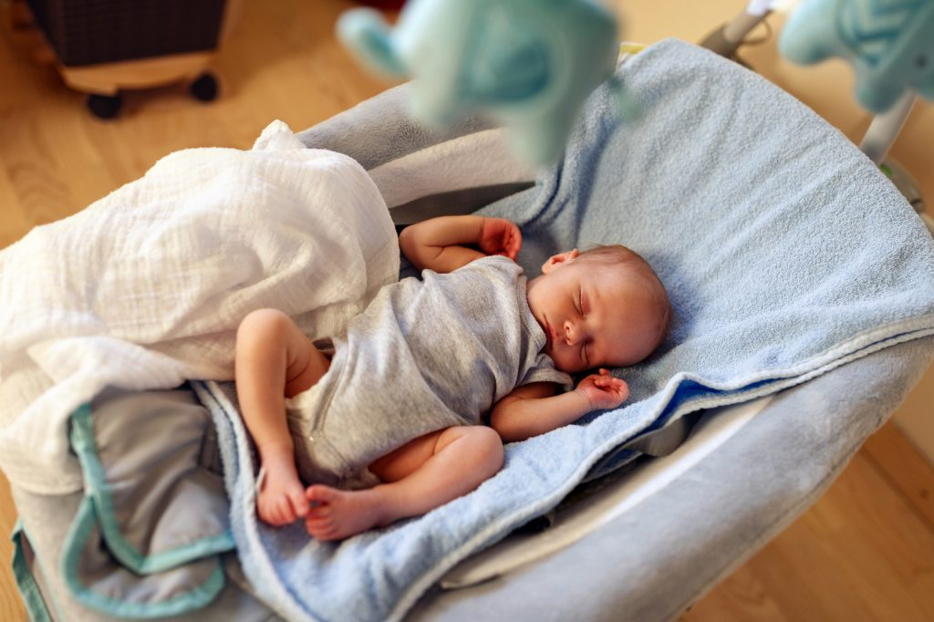 how to have a clean house with a newborn baby