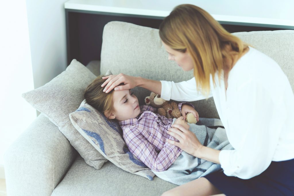 how to treat fever in children
