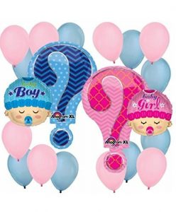 balloons for gender reveal