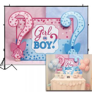 back drop for gender reveal parties