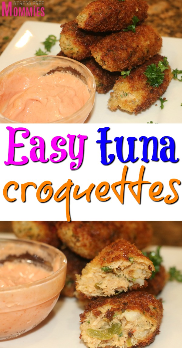 How to make tuna croquettes