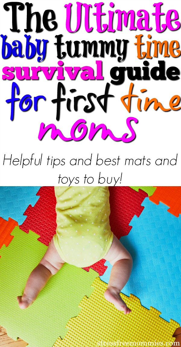 The ultimate baby tummy time survival guide for new moms (tips and products to use!)