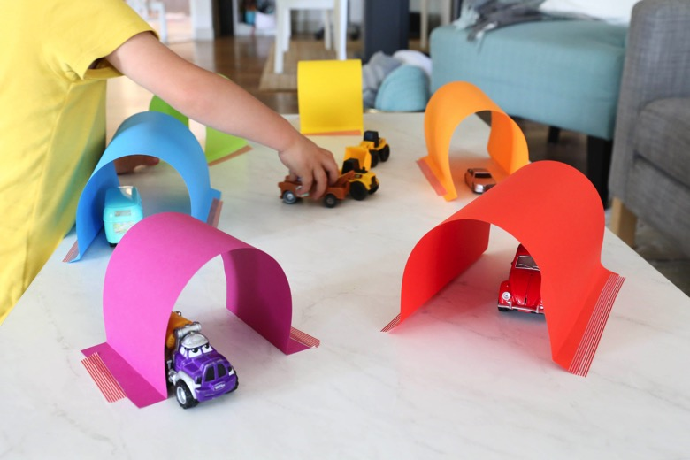 car tunnel for toddler boys