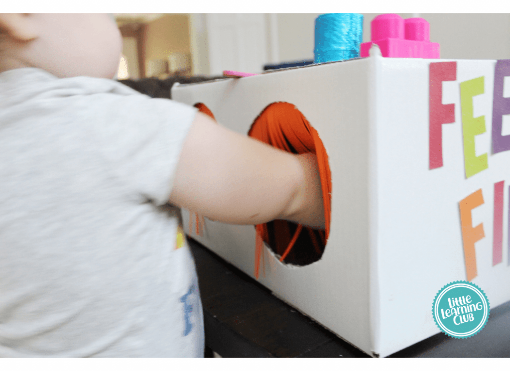 feel and find activity for toddlers