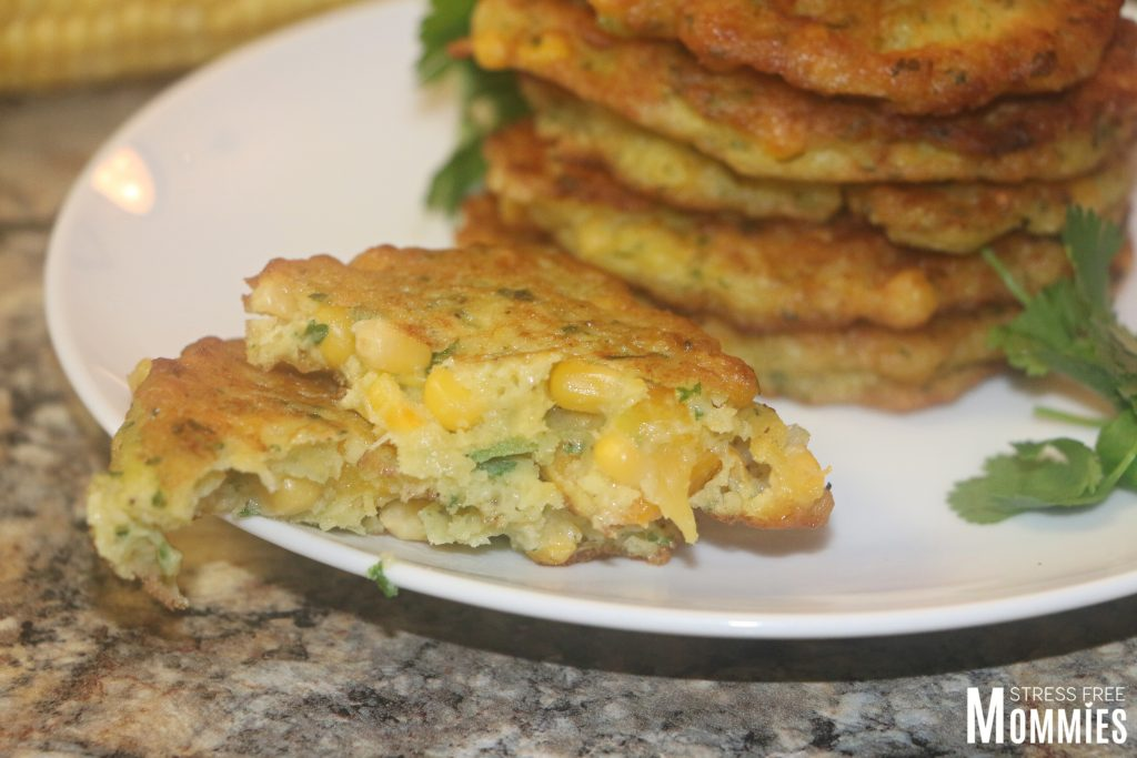 easy corn fritter recipe