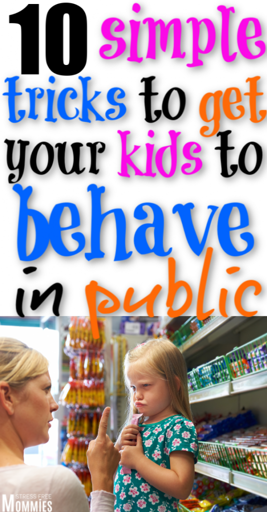 Tired of having misbehaved kids? Here are 10 excellent tips to get your kids to behave in public. These are the secrets to raising well-behaved kids. Parenting tips to raise well behaved kids.
