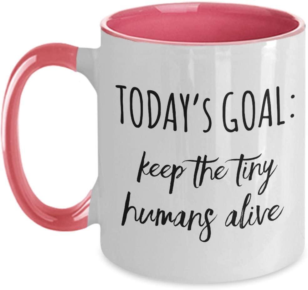 funny mom goal coffee mug