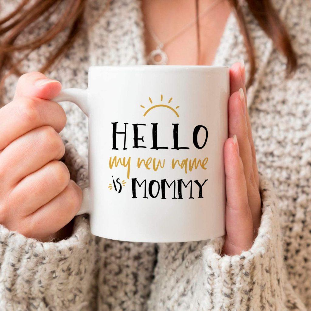 new mommy mug.