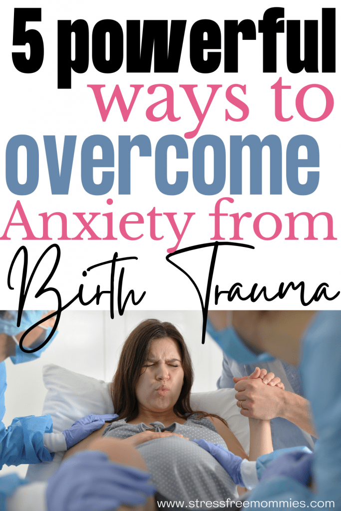 How to overcome anxiety from birth trauma. Experienced a traumatic birth and finding it hard to live or thrive after it? reduce anxiety and start feeling better again. Birth trauma happens more often than you think. This is how I overcome the effects of it and started healing! Reduce and overcome anxiety effects from birth trauma.