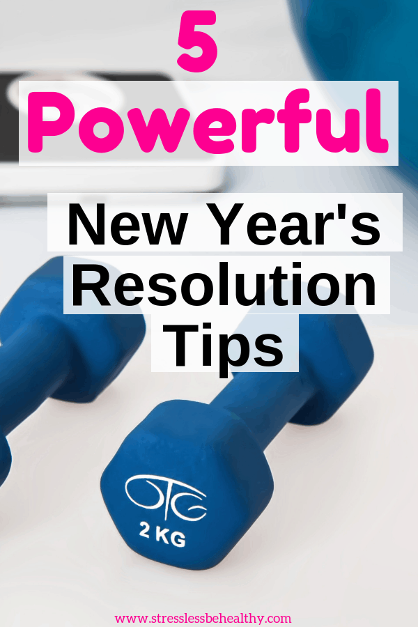 Did you set a New Year's Resolution this year? Use the New Year for motivation, But,find out how to keep them, with these New Year's Resolution Tips! #newyear #newyearsresolutions #goalsetting #plan #stresslessbehealthy