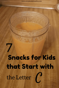 snacks that start with c