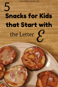 snacks that start with e