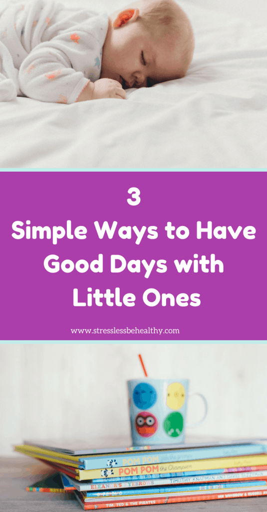 want good days with kids? Find out how here! good days, calm days, days with kids, kid chaos, snow day, stuck home, sahm, stay at home mom, work at home mom, self care, care for others