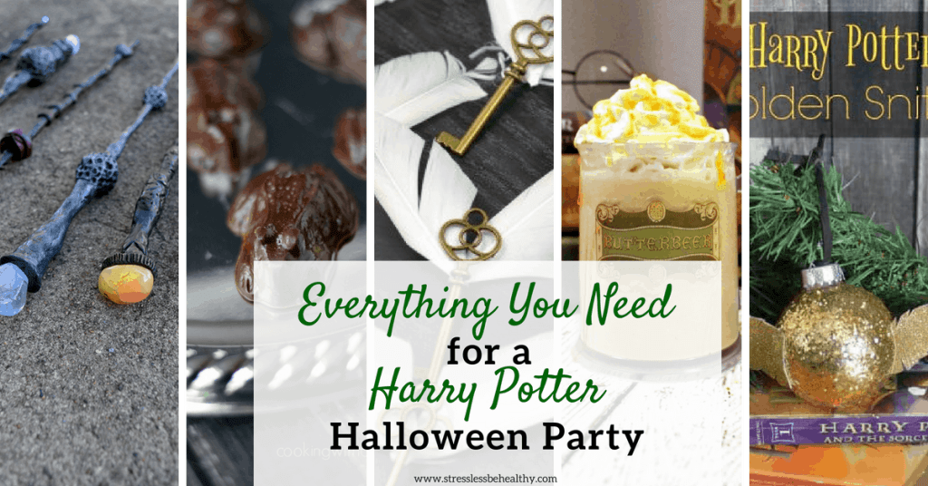 harry potter halloween party