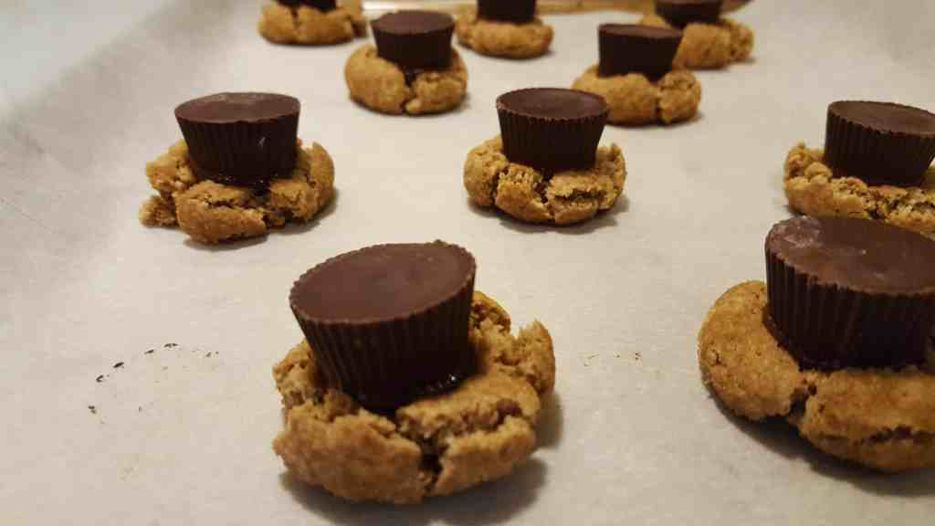 Vegan Peanut Butter Cup Blossoms