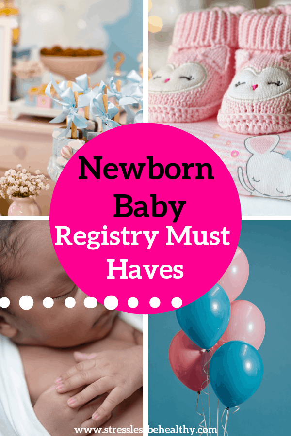 Looking for baby registry must haves for every budget? Check out this Ultimate List for Baby Registry Must Haves that is Sorted by Price for your convenience! #babyregistry #newmoms #showergifts #babyshower #stresslessbehealthy