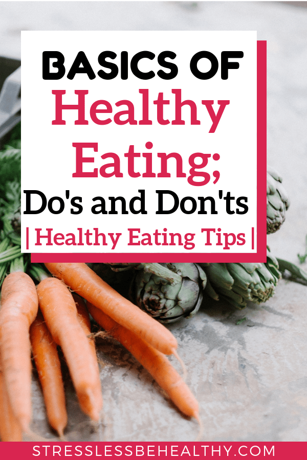 carrots and other veggies to show the basics of healthy eating for healthy eating tips and how to eat healthy