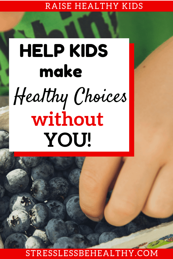 boy and blueberries, kids eating healthy, healthy food choices