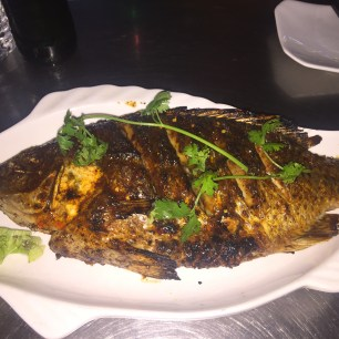 Grilled Fish at China Town
