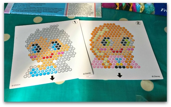 Aquabeads Frozen Play Set Stressy Mummy - Aquabeads templates