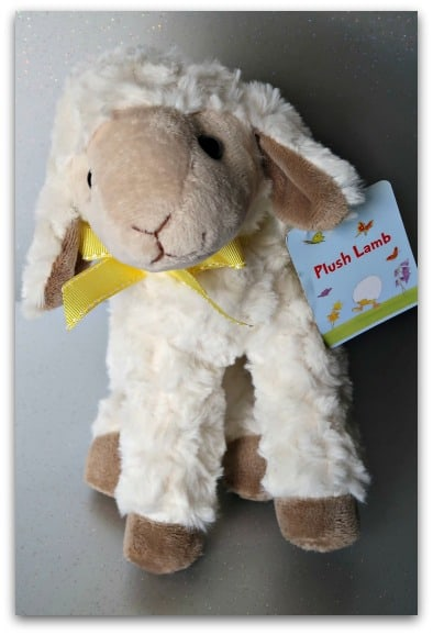 Plush Lamb from Home Bargains