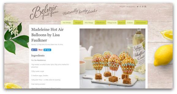 Madeleine Hot Air Balloons by Lisa Faulkner