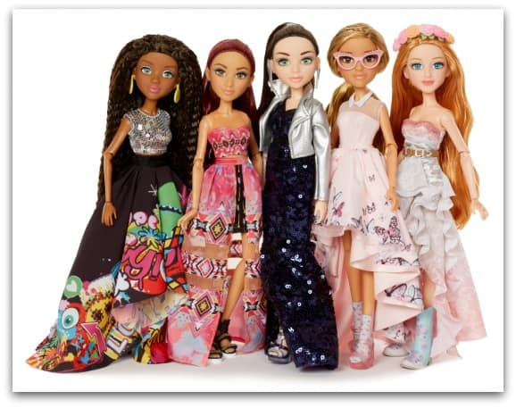 The new collection of Project MC2 Dolls with experiments for 2017
