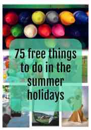 75 Free Things To Do In The Summer Holidays