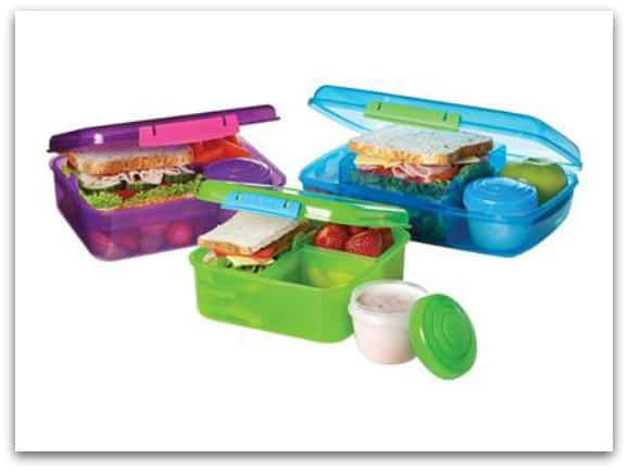 New Bento boxes from Sistema