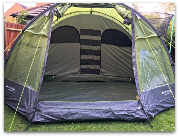 The Eurohike Rydall 600 is a spacious family tent