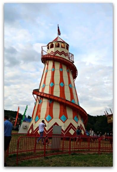 Fairground fun at  Bristol International Balloon Fiesta 2017