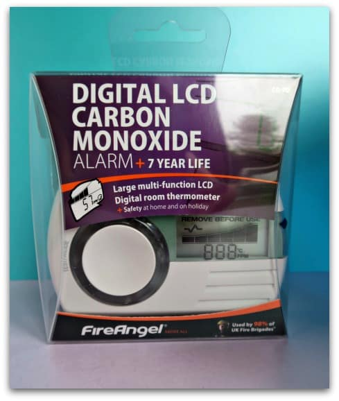 digital LCD carbon monoxide alarm