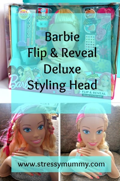 Barbie Flip & Reveal Deluxe Styling Head Review