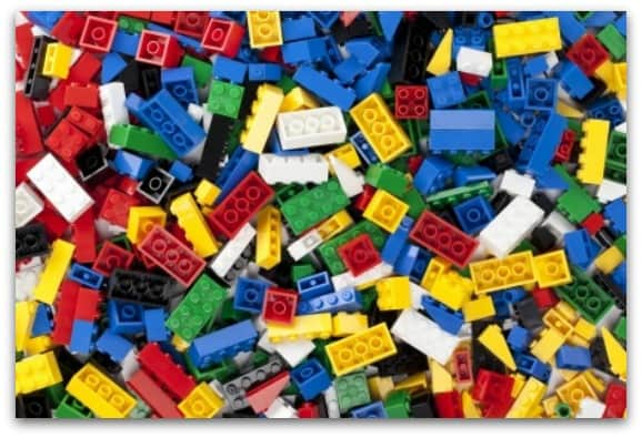 Have a busy box in the car and include some LEGO to keep kids occupied during long journeys