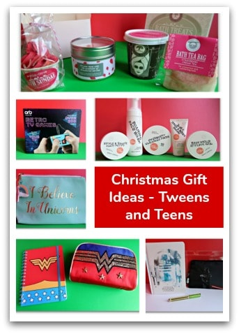 christmas gift ideas tweens and teens