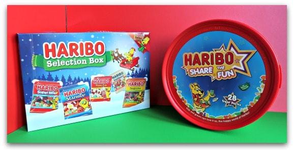 Haribo Selection Box and Tub