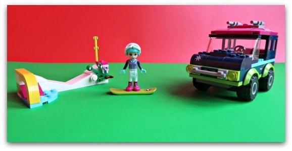 LEGO Friends Snow Resort Off-Roader Built