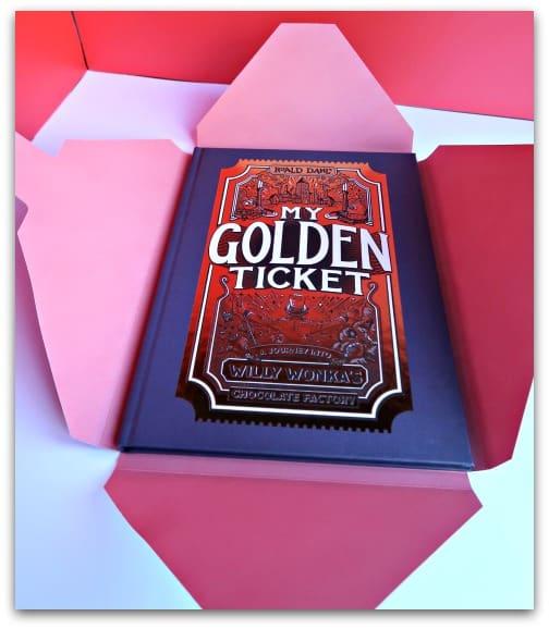 Wonderbly My Golden Ticket Hardbacked