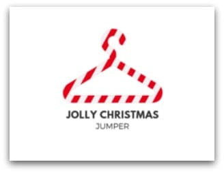 Jolly Christmas Jumper Logo
