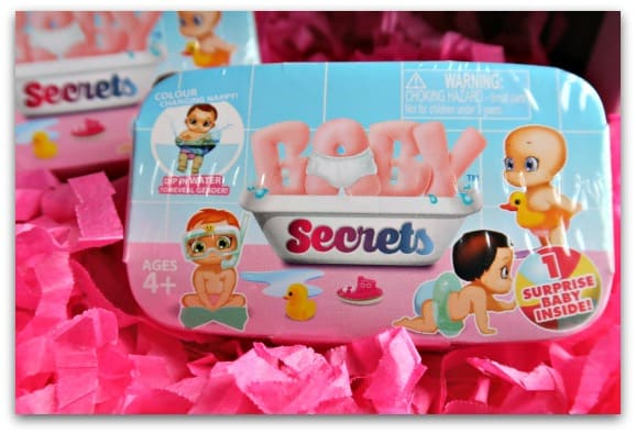 BABY Secrets in packaging