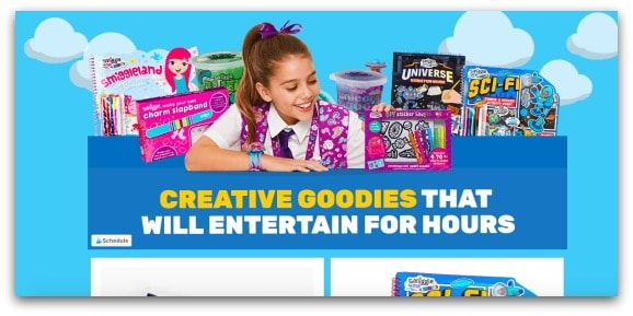 Creative goodies from Smiggle to help