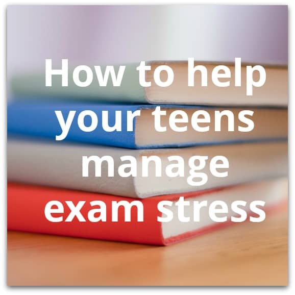 How to help your teens manage exam stress