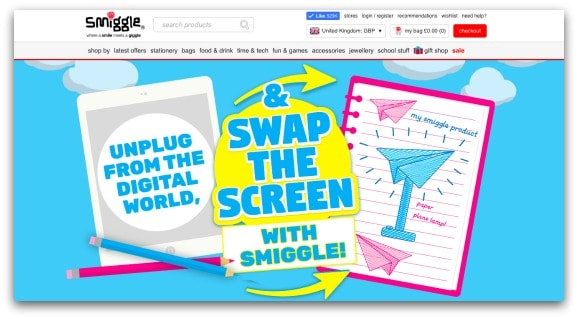 #SwapThe Screen with Smiggle for Screen-Free Week