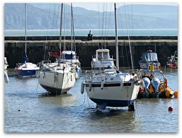 The Harbour in Lyme Regis
