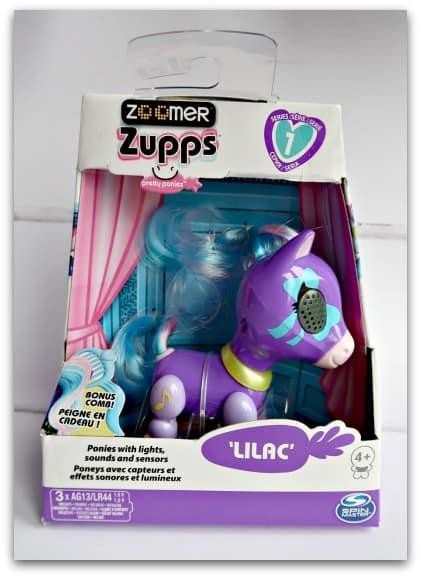 Zoomer Zupps Pretty Ponies Lilac