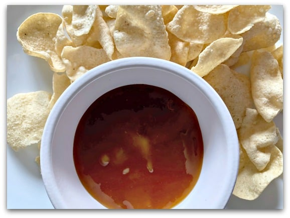 Creating Tastier Picnics with Tracklements - Indian Mango Chutney is the perfect accompaniment to poppadoms
