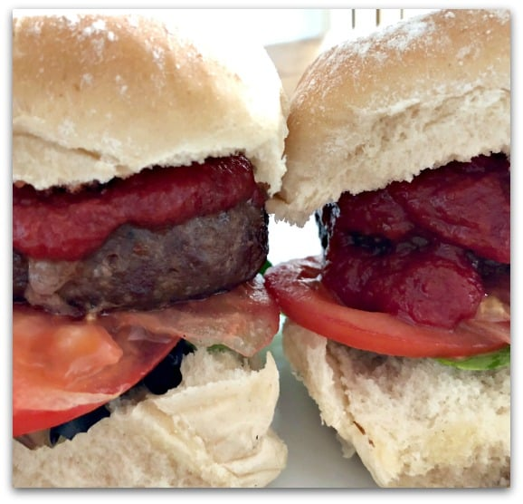 Creating Tastier Picnics with Tracklements - Proper Tomato Ketchup is perfect to add flavour to burgers