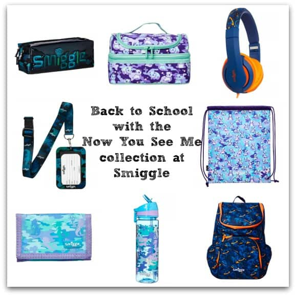 Back to School with the Now You See Me Collection at Smiggle