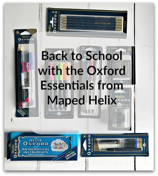 Back to School with the Oxford Essentials from Maped Helix