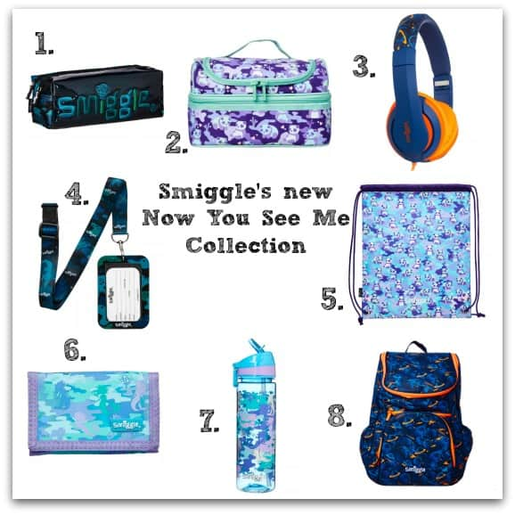 Smiggle's new Now You See Me Collection